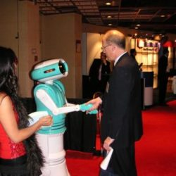 Robot for events