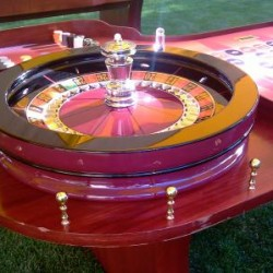 We use REAL 32 Roulette Wheels