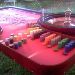VIP Roulette Table with 32 Roulette Wheel
