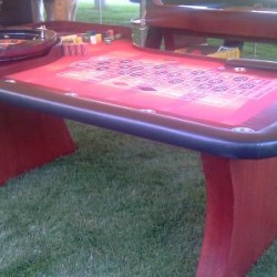 VIP Roulette Table - Different Angle