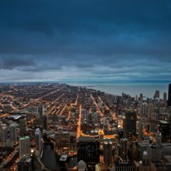 View North of Chicago