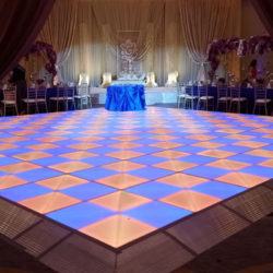 LED Dance Floor   Add a little wow factor to your banquet or dance party