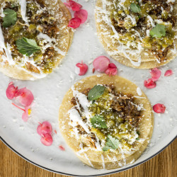 Mexican Mole Street Tacos