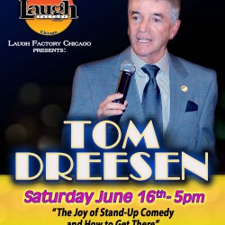 Tom Dreesen booking