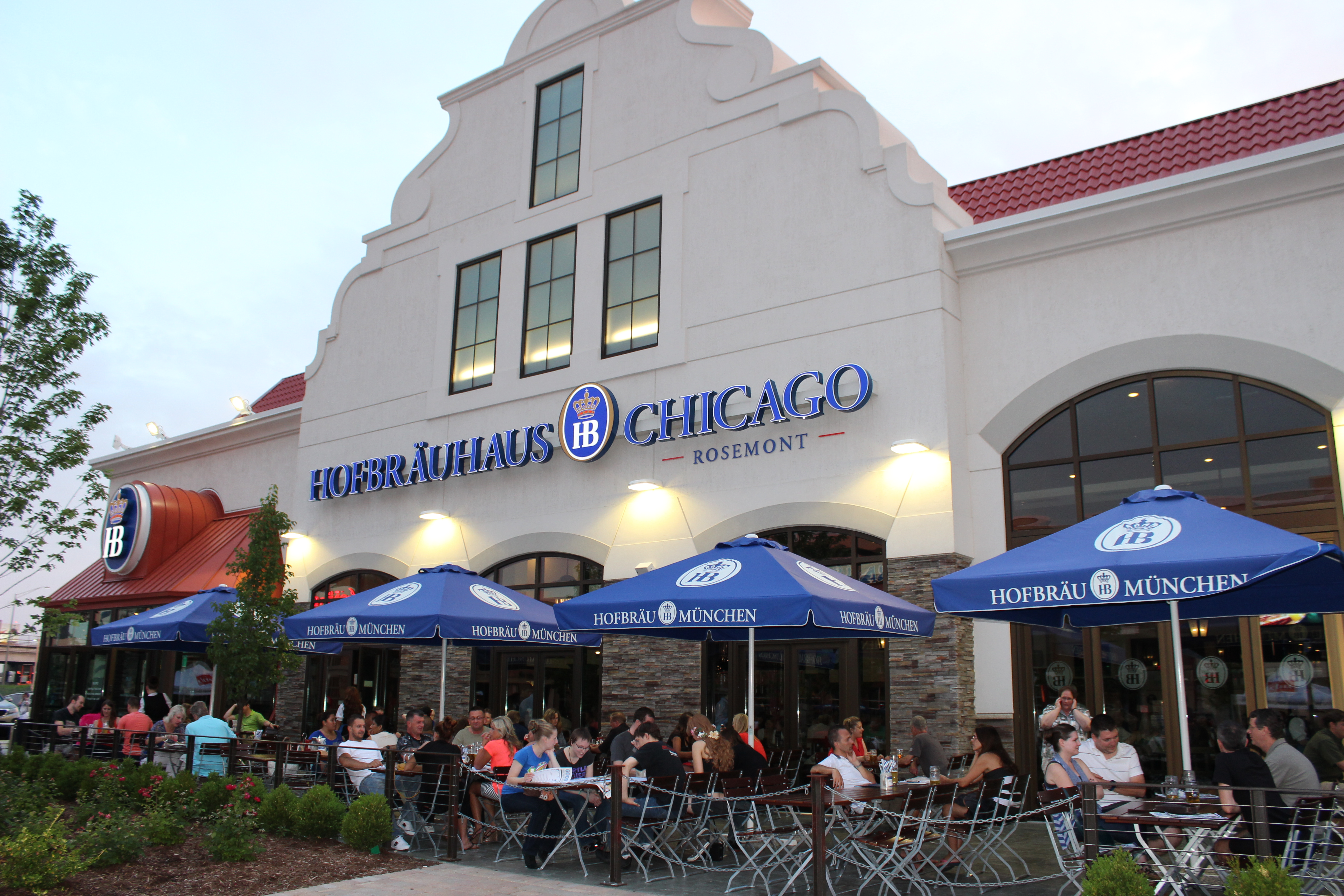 Hofbrauhaus ChicagoRosemont Event Space Heres Chicago - Chicago map rosemont