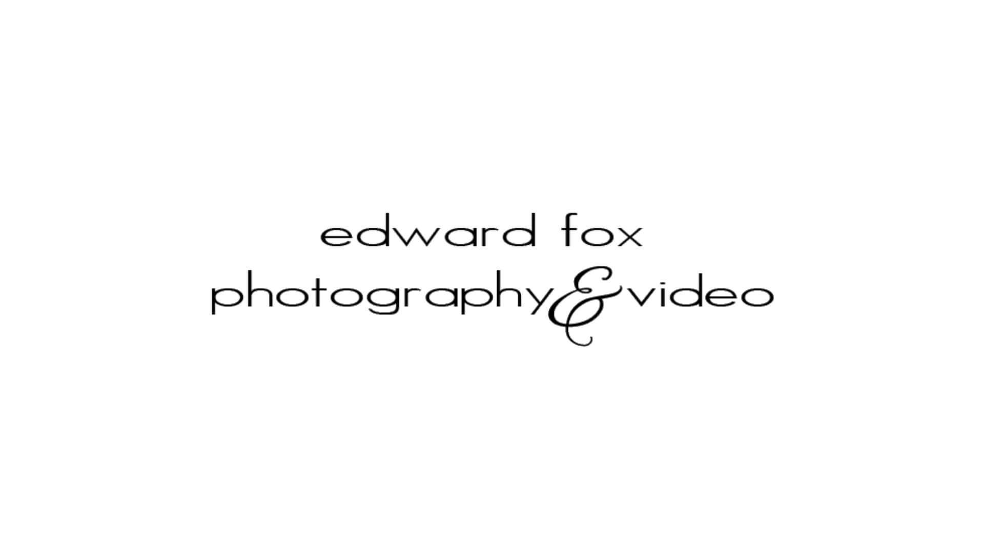 Edward Fox Event Photography  Video logo