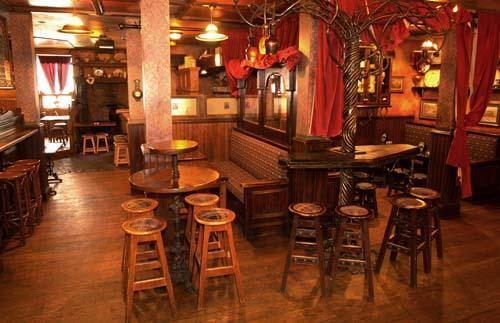Fado irish pub private party rooms here 39 s chicago for Irish pub decorations home
