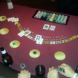 Blackjack Table Rentals Chicago