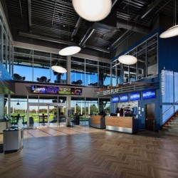 Topgolf Naperville Lets Play Desk