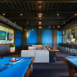 Topgolf Naperville Lower Lounge
