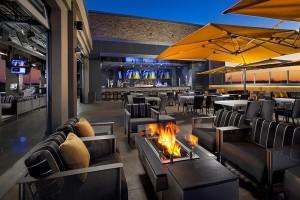 Topgolf Rooftop Terrace Naperville