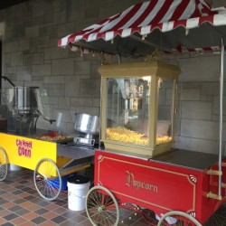 Chicago Mix Popcorn Cart