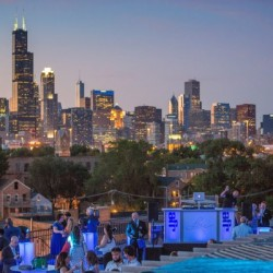 Lacuna rooftop event space