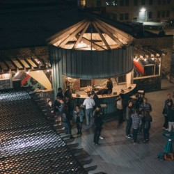 rooftop sky deck event space