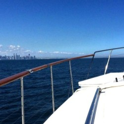 Chicago Yacht Rental Cruising the City