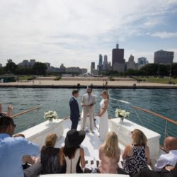 Weddings Chicago Yacht Charter Lake Michigan
