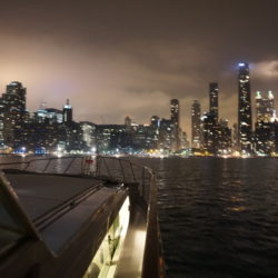 night cruise lake michigan