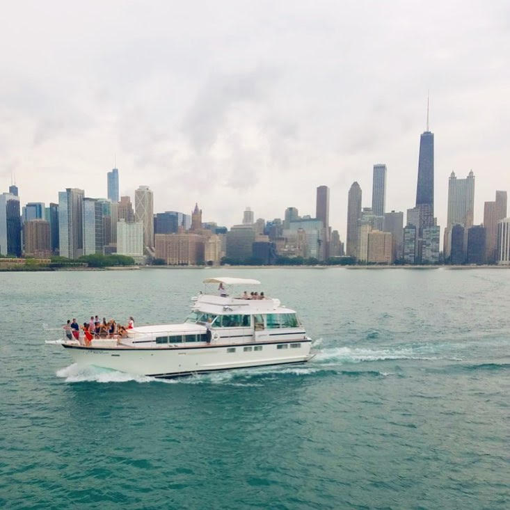 Lake Michigan Chicago Private Yacht Charter Rental Here S