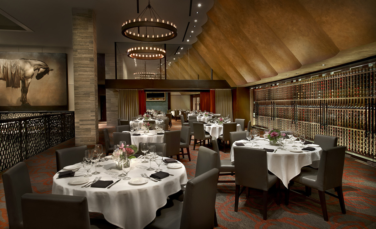 chicago private dining rooms Kelli Arena