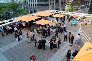 Chicago Rooftop Party Place corporate event