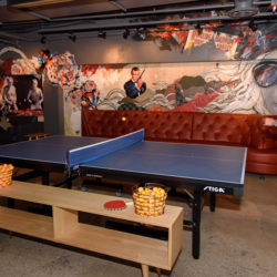 Upstairs Loft for Ping Pong at SPiN Chicago