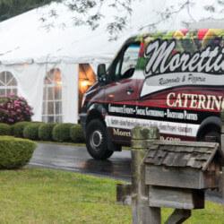 Morettis Catering van