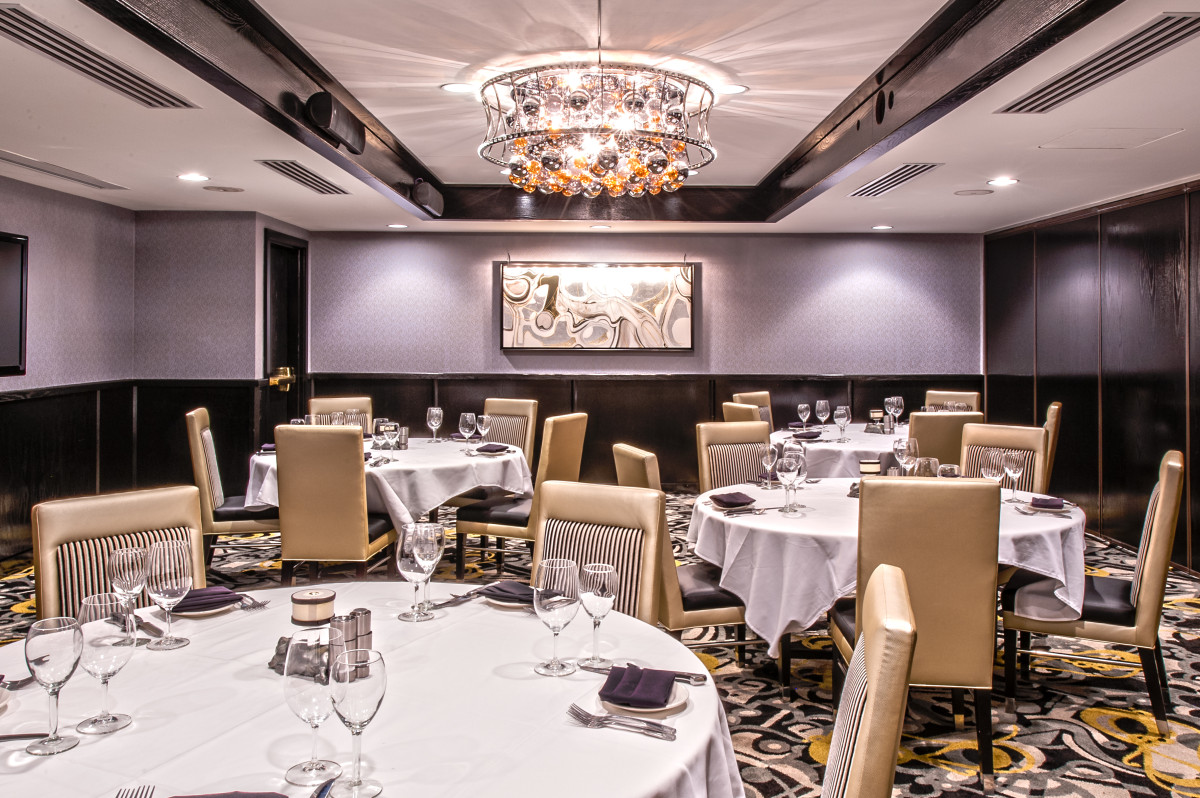 Morton 39 s the steakhouse private board rooms dining for Best private dining rooms in chicago 2016
