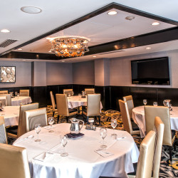 Mortons Chicago Steak house private party room