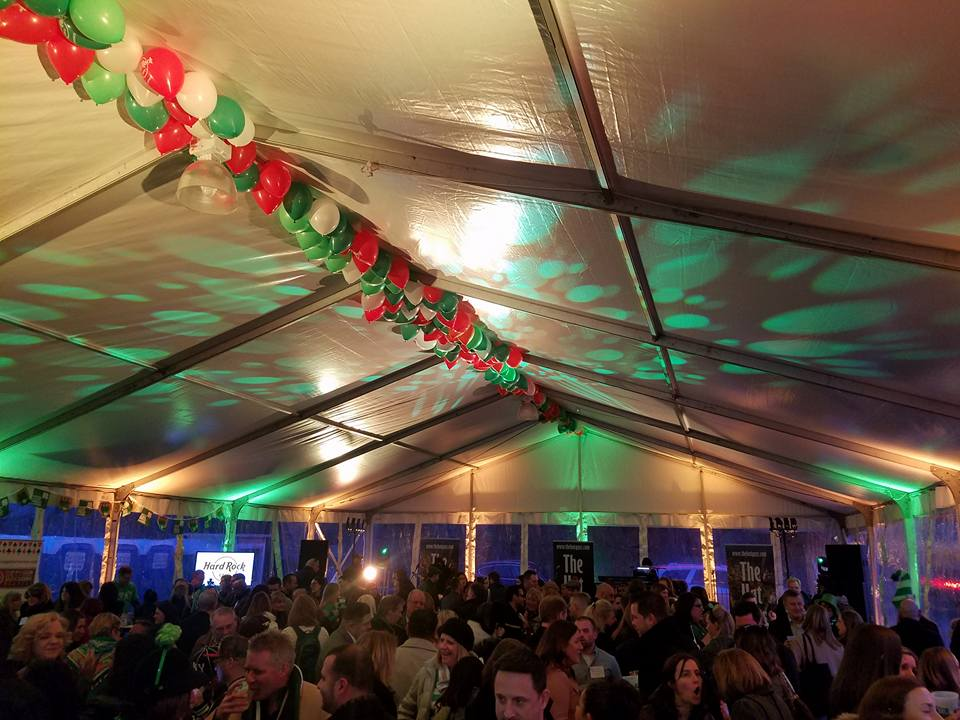 here's chicago st. pat's bash