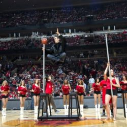 Michael Grandinetti 8211 Chicago Bulls Playoff LevitationjpgSM