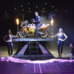 Michael Grandinetti Tour   Fire to Motorcycle Appearance