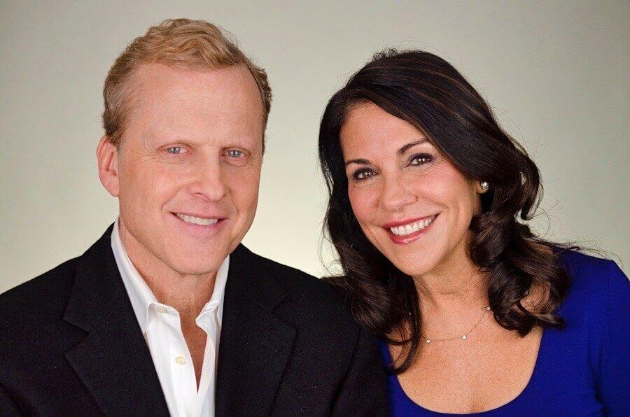 Bob Sirott and Marrianne Murciano Chicago celebrity emcee and speaker