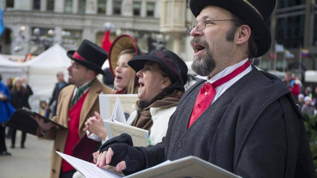 Christmas Carolers Chicago