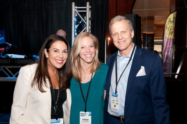 Bob Sirott & Marianne Murciano at Hospitality Fest Chicago 2017