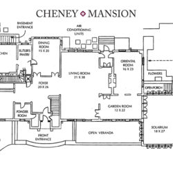 Cheney Mansion Floorplan