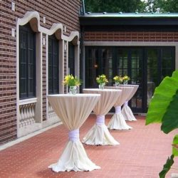 Cheney Veranda Corporate Reception outdoors