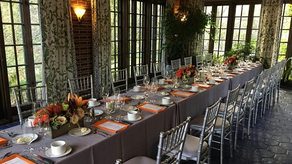 Corporate Dinner inside Cheney Mansion