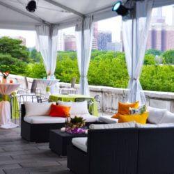 Shedd Aquarium Chicago outdoor terrace event space