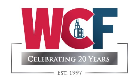 WCF Events 20 years logo