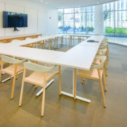 Auditorium D on the 10th Floor   boardroom setting