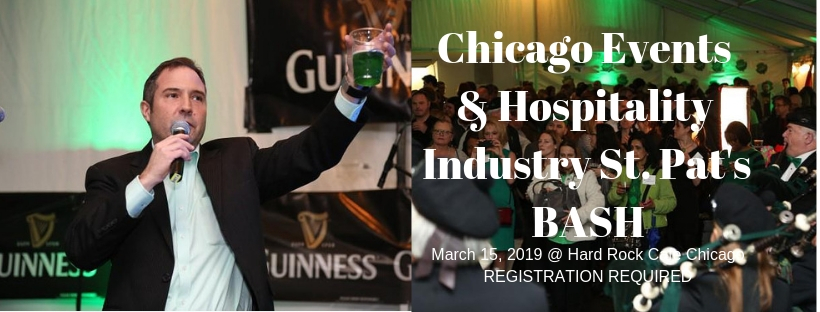 Chicago Events & Hospitality Industry St. Pat's BASH
