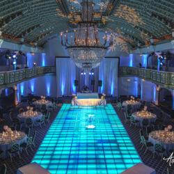 Crystal Ballroom Blue Dance Floor