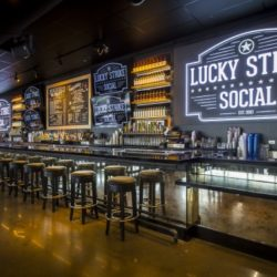 Lucky Strike Social at Wrigleyville birthday party