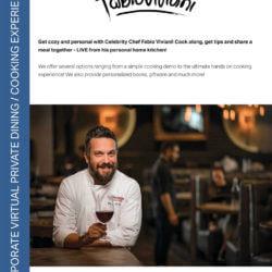 celebrity chef fabio viviani virtual events and classes