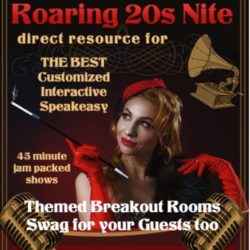 Virtual Corporate Roaring 20s Party