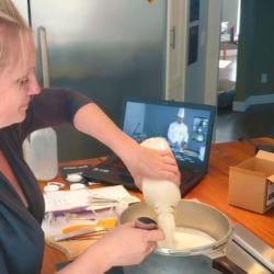 Mozzarella Cheese Making with Kit