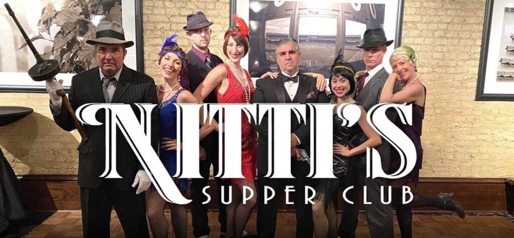 Nitti's Supper Club with da gansters & da molls